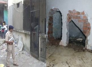 Body buried beneath a wall before Diwali 2015 unearthed 5 years later just before the festival