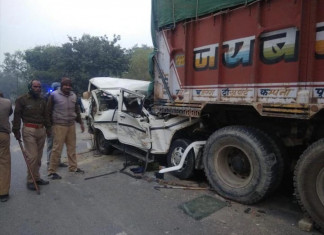 Uttar Pradesh: 14 dead in road accident after SUV rams into truck
