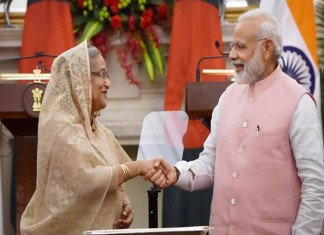 India signs 7 agreements with Bangladesh, rail link inaugurated