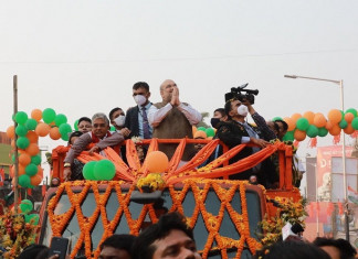 Union home minister Amit Shah attacks Mamata govt in Bolpur rally