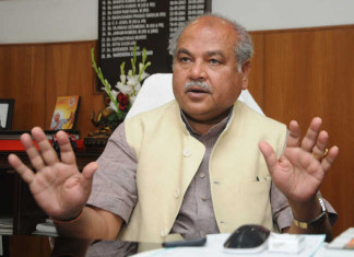 """Only Congress can do farming with blood"", says Narendra Singh Tomar"