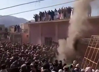 Century-old Hindu temple damaged, set on fire by mob in Pakistan