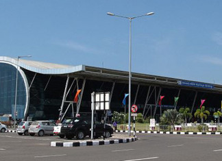 Thiruvananthapuram airport employees protest against takeover by Adani Group