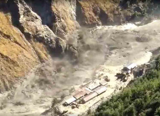 Nearly 150 people missing due to flash floods in Uttarakhand