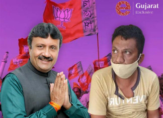 """""""Why no mask?"""" youth asks BJP MLA in Surat, lands in jail"""