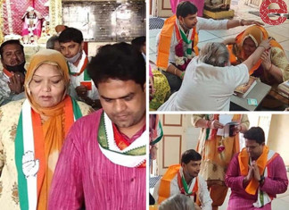 Congress' Muslim candidates offer prayers in temple to woo voters
