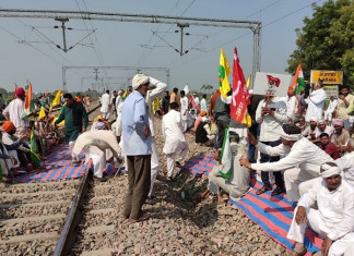 Rajasthan: Protest against farm laws affects train movement