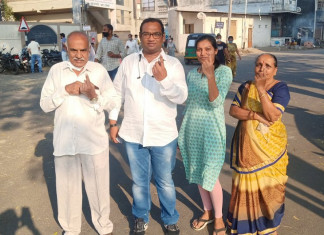 Civic body polls: Patidar-dominated AMC wards see low voter turnout