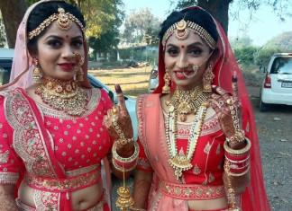 Bride sisters in Surat opt for voting during polls before the wedding