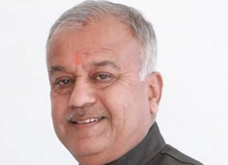 BJP MP from Khandwa Nand Kumar Singh Chauhan no more
