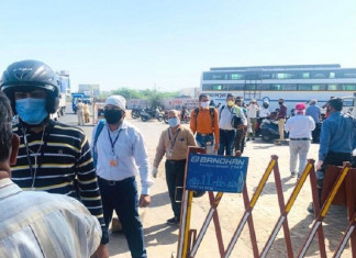 Maharashtra COVID impact: 130 positive passengers from the state entered Surat in the last 24 hours