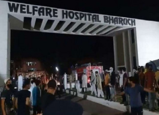 Fire in Bharuch's Covid hospital, 18 patients dead