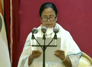 Mamata Banerjee takes oath as Bengal CM third time in a row