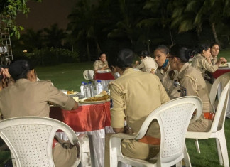 Curfew restrictions only for commoners? Surat police's night party raises eyebrows